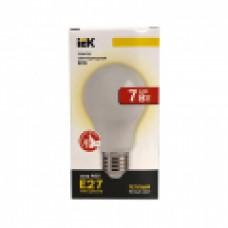 Лампа светодиодная IEK ECO А60 11Вт Е27 3000К