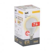 лампа светодиодная ECO G45 шар 7 вт 4000к