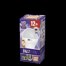 Лампа светод LED А60 Е27 220V 12W 5000К Jazzway PLED