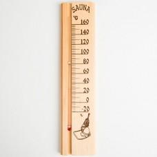 """Деревянный термометр для бани и сауны """"Sauna"""""""